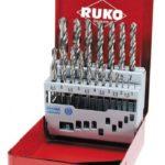 Набор из 19-ти шт. сверл Speed Cut HSS-G (1,0-10мм.) /RUKO/