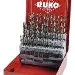 Набор из 25-ти шт. сверл Speed Cut HSS-G (1,0-13мм.) /RUKO/