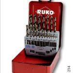 Набор из 25ти шт. сверл HSS-Co, тип FO (1,0-13мм.) /RUKO/